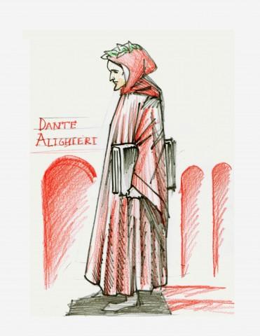 21-la-figura-di-dante-alighieri-disegnata-da-enrico-guerrini1