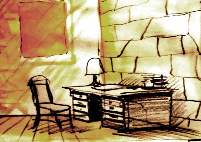 9-il-disegno-della-stanza-tappezzata-di-sughero-di-proust