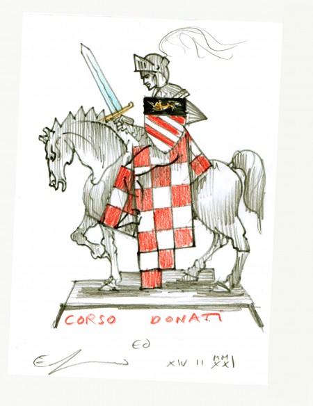 94-corso-donati-a-cavallo-disegno-di-guerrini